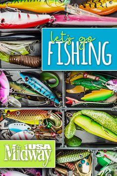 Fill Your Tackle Box with Fishing Products of All Kinds. Shop Fishing at MidwayUSA! Best Fishing, Fishing Tips, Natural Stills, Halloween Party Drinks, Foods To Balance Hormones, Camper Hacks, Fishing Supplies, Crappie Fishing, Tackle Box