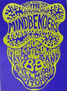 The Mindbenders, Wes Wilson, Fillmore