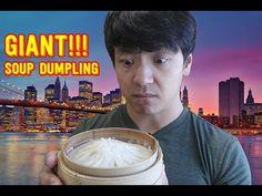 GIANT Soup Dumpling Xiao Long Bao Food Review! - YouTube