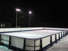 Donalda Club Synthetic Ice Rink 40 X 80