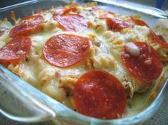 Easy Pizza Pasta Casserole OAMC) Recipe - Food.com