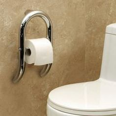 UDS - Invisia Toilet Roll Holder with Integrated Support Rail, $199.00 (http://estore.udservices.org/invisia-toilet-roll-holder-with-integrated-support-rail/)