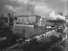Von 1894.. Rotes Rathaus.. Waisenhauskirche.. Parochialkirche.. Jannowitzbrucke