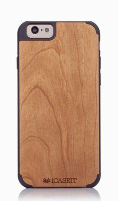 Amazon.com: iPhone 6 / 6s Case | Cherry / Black - iCASEIT [Non-Slip] [Exact-Fit] Unique & Slim [Fit Series] [Thin Fit] Premium Non Slip for iPhone 6 / 6s (4.7 Display) - Cherry / Black: Cell Phones & Accessories