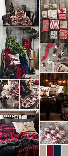 This is my interpretation of what Christmas in a log cabin looks like - a rustic home with a delightful feast on the dinner table, the rich taste of hot cocoa, warm blankets, the smell fresh of pine trees, and the sound of wood burning in the fireplace.1. via Anastasia Volkova2. via Stocksy3. via Lexington Company4. via Anastasia Volkova5. via Anastasia Volkova6. via Anastasia Volkova7. via Architecture Art Designs8. via Skimbacolifestyle9. via DecoratingIdeas1.comHave a Cabin Christmas in ....