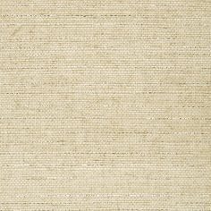 Metallic beige grasscloth wallpaper
