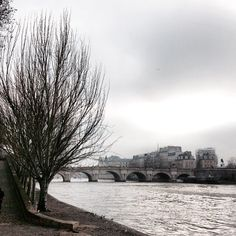 Grey winter skies hang over Paris. Photo courtesy of mybeautifulpari on Instagram.