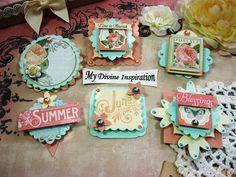 G45 Time to Flourish June Handmade Paper by mydivineinspiration