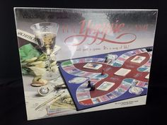 THE YUPPIE GAME Vintage Board Game 1985 Waddingtons Games 1980s Adult Satire #Waddingtons