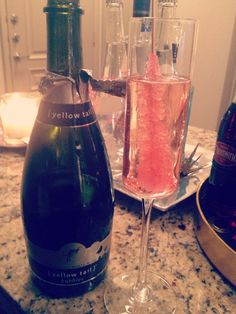 Champagne + Rock Candy