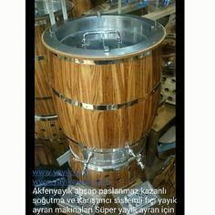 www.yayık.com  Akfenyayık ahşap paslanmaz kazanlı soğutma ve Karıştırıcı sistemli fıçı yayık ayran makinaları Süper yayık ayran için