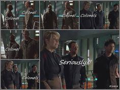The Colonels of Stargate Atlantis, makes me snicker every time!