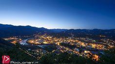 https://flic.kr/p/sxrSmq | Borgosesia | Panorama notturno