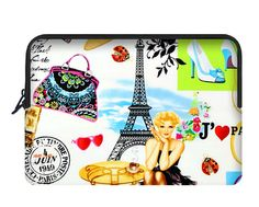 Custome Neoprene Notebook Sleeve Case Cover Sleeve Pouch for Apple MacBook Air 13 Inch I love France Print http://www.amazon.com/dp/B014MJHRFU