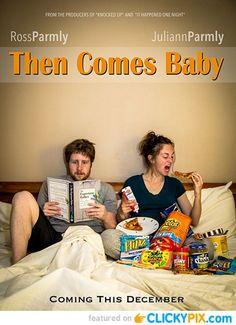 Pour annoncer une naissance aux proches : l'affiche de film rigolotte