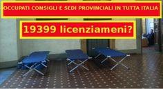 Occupati consigli e sedi provinciali in tutta italia