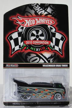 2010 Hot Wheels Mexico Convention Volkswagen Drag Truck 2248/3000