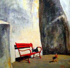 Tarcsay Béla, pittore Ungherese, è nato a Nagykanizsa nel 1952. Dal 2000 vive a Szege Per più informazioni leggi qui:http://www.tuttartpitturasculturapoesiamusica.com/2011/11/tarcsay-bela-1952-hungary.html?m=1 © Tutt'Art@   Pittura * Scultura * Poesia * Musica  