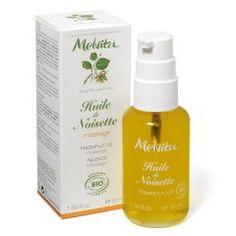 Huile végétale bio de Noisette - Adoucissante et Massage 50 ml
