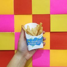 Fries! Yum!