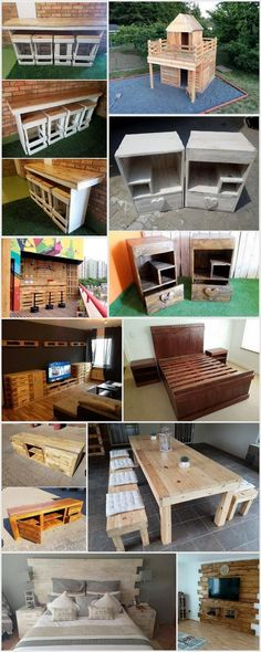 Cool and Easy Projects To Do With Wood Pallets