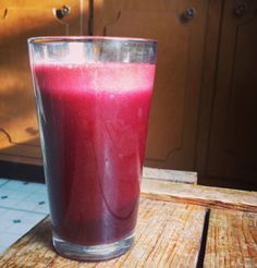 A Less Processed Life: Spinach, Carrot, Beet, Cucumber, Lemon, Apple, Ginger #juice