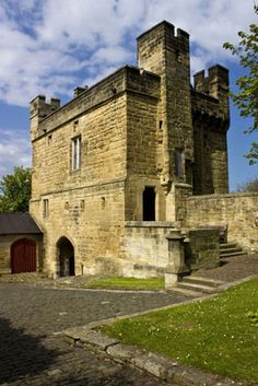 Exterior, Morpeth Castle, Northumberland