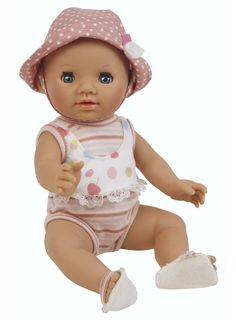 Schildkrot Bath Baby Sunny Bath Doll, Sunnies, Crochet Hats, Teddy Bear, Toys, Children, Vinyl, Ebay, Baby Dolls