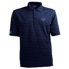 NFL Men's Houston Texans Elevate Desert Dry Polo Shirt Antigua. $45.54