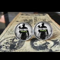 Call Of Duty #3   Find us at these as well:  http://www.bonanza.com/booths/Kustom_Kufflinks  http://www.rebelsmarket.com/rebel-store/kustom-kufflinks