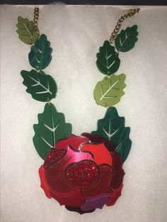 Tatty Devine Enchanted Rose Necklace 😍🌹 A/W 2017