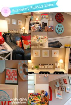Cute ideas for a finished basement
