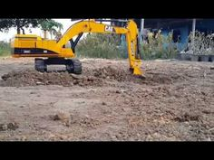 BRUDER Excavator Caterpillar 375ME at work! Amazing HUGE and realistic R...