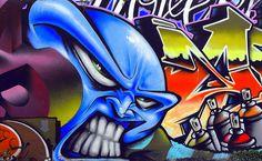 Kim Johnson - graffiti art 1
