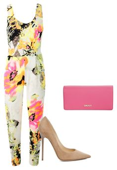"""""""Untitled #9"""" by lc-cordeiro on Polyvore featuring Jimmy Choo and DKNY"""