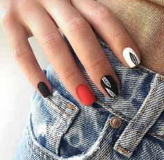 Matte nails are so popular in the beauty world these days. In case you were looking for perfect nails, we have picked out 40 matte nail designs for you to try. Colorful Nail Designs, Acrylic Nail Designs, Nail Art Designs, Acrylic Nails, Matte Nail Colors, Color Nails, Matt Nails, Gold Glitter Nails, Pointed Nails