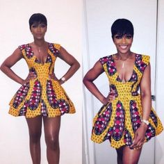 Hello,Today we bring to you 'Exquisite Ankara Short Gowns' from your favorite fashion community, The Ankara Short Gown, Trendy Ankara Styles, Short Gowns, Ankara Gowns, Long Dresses, African Fashion Designers, African Print Fashion, Africa Fashion, African Prints