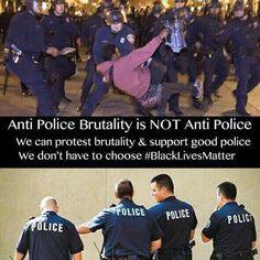 "Via Bipartisan Report: Being anti-police brutality does NOT make you ""anti-cop."" #PoliceBrutality #BlackLivesMatter #AltonSterling #PhilandoCastile #TamirRice #EricGarner #FreddieGray #MikeBrown #SandraBland #WalterScott #GynnyaMcMillen #DajerriaBecton #AkaiGurley #LaquanMcDonald #SamDubose  https://www.instagram.com/p/BHjULqPBWML/"