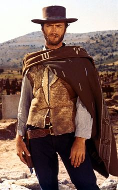 "Clint Eastwood, ""The Good, The Bad, and The Ugly""  Far west movie !"