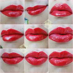"""Sparklings Makeup Blog: Luscious Lip Couture """"Scandal"""" & """"Paparazzi""""~Review & Swatches"""