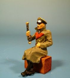 Orig.Lineol (Elastolin) Wehrmacht – Generalfeldmarschall Rommel – 7cm Serie