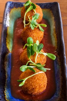 The Pink Dumpling | Sweet Potato Croquettes