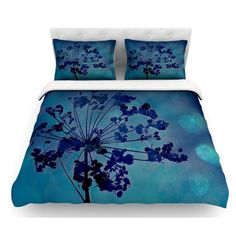 East Urban Home Grapesiscle by Robin Dickinson Featherweight Duvet Cover Size: