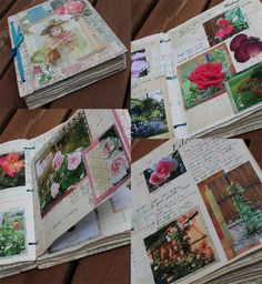 Rose garden journal... dedicate a journal to a favourite hobby or activity