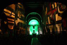 Licht- und Klang-Installation in der Germershäuser Wallfahrtskirche