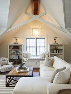 Fresh Farmhouse, Modern Cottage...I think this describes the style of house and interiors that I like