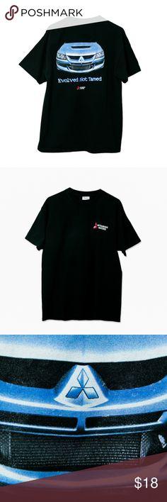 5ab58d9ef Vintage Mitsubishi Lancer Evo T-Shirt Condition: 7/10 Vintage Shirts Tees -