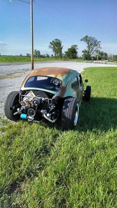 "1964 beetle rat rod built by Nick Melo in Plattsmouth Nebraska. """" 1964 beetle rat rod built by Nick Melo in Plattsmouth Nebraska. Rat Rods, Vw Rat Rod, Combi Wv, Vw Beach, Vw Mk1, Supercars, Vw Vintage, Vw Cars, Pedal Cars"