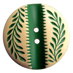 Vintage Buffed Celluloid Button