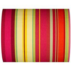 Tissu Rayé Multicolore - Ceret - 43cm